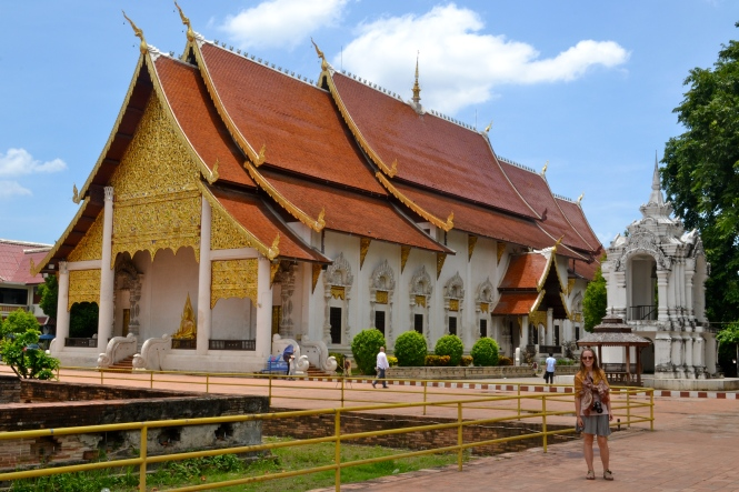 A beautiful temple in Chiang Mai